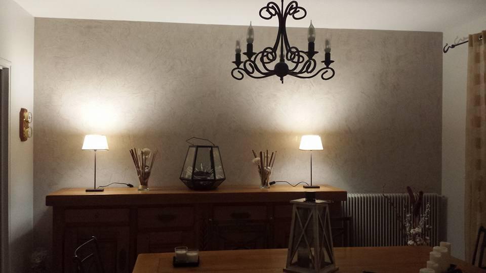 Murs en stucco servon or e de la brie ozoir la ferri re for Plafond en stucco